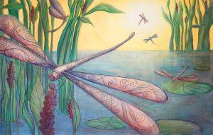 Étang aux libellules